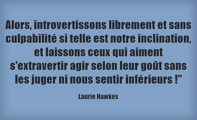 Introvertissons-librement - Laurie Hawkes