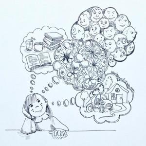introvertie dans son monde